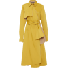 Mi Jong Lee Long Trench Coat - Kurtka -