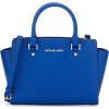 Michael Kors Blue Handbag - Hand bag -