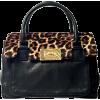 Michael Kors Calf Hair Leopard Print - Hand bag -
