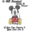 Mickey Mouse - 插图用文字 -