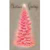 Mid century modern Christmas card - Luci -