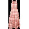 Midi Check Dress - Dresses -