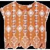 Miguelina Deva cropped top - Camisa - curtas -