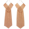 Earrings Gold - Aretes -