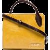 Mini Leather Tote Bag - Hand bag -