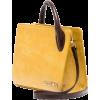 Mini Leather Tote Bag - Borsette -