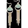 Mint Earrings - Earrings -