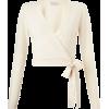 Miss Selfridge wrap sweater - Пуловер -