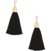 Missguided green tassel drop earrings - Earrings - £4.00  ~ $5.26