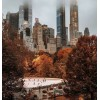 Misty New York in autumn - 建物 -