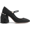 Miu Miu Feather Trimmed Shoes - Classic shoes & Pumps -