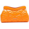 Miu Miu orange patent clutch bag - Clutch bags -