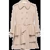 Miu Miu Jacket - coats Beige - Jacket - coats -