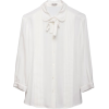 Miu Miu Long sleeves shirts White - Long sleeves shirts -