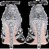 Miu Miu Sandals Silver - Sandale -