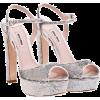 Miu Miu Sandals Silver - Sandals -