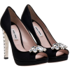 Miu Miu Shoes Black - Shoes -