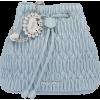 Miu Miu CRYSTAL NAPPA BUCKET - Poštarske torbe -