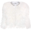 Miu Miu - Cropped crystal feather jacket - Jacket - coats - $2,900.00