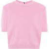Miu Miu Knitted Cashmere Top - Koszulki - krótkie -