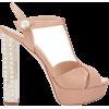 Miu Miu Satin Heels - Sandals -