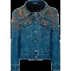 Miu Miu Washed denim jacket - Куртки и пальто -