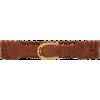 Miu Miu Wide Woven Leather Belt - Belt -