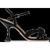 Miu Miu embellished-bow sandals - Sandale -