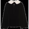 Miu Miu single-breasted embellished cape - Kombinezony -
