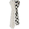 Mix Spot Ruched Midi Wrap Dress - Dresses -