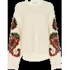 Moda Operandi Floral-Embroidered Wo - Pullovers -