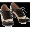 Modcloth black and white oxford heels - Scarpe classiche -