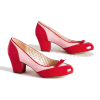 Modcloth retro red heels - Classic shoes & Pumps -