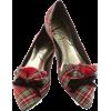 Modcloth tartan flats - Ballerina Schuhe -