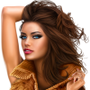 Model with brown hair - Personas -