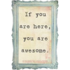 If You Are Here Frame - Рамки -