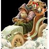 Santa - イラスト -
