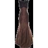 Monique Lhuillier Espresso Brown gown - Dresses -