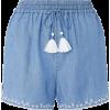 Monsoon Embroidered Shorts - Shorts -