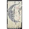 Moon And Stars Bamboo Beaded Curtain - Namještaj -
