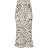 Moon River Leopard Print Midi Skirt - スカート -