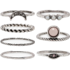 Moon Stone Ring Set - Prstenje -