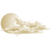 Moon and clouds - 插图 -
