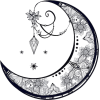 Moon illustration - Illustrations -