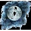 Moon watercolour - Ilustracije -