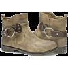 Muk Luk's Beige Hayden Boots - Boots - $70.45