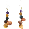Multi Agate Earrings - Earrings -