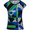 Multi Color Geometric Print Slim Fit T-S - T-shirt - $46.00  ~ 39.51€