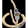 Multi Colored Hoop Earrings - Uhani -