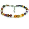 Multi-agate Anklet - Other jewelry -